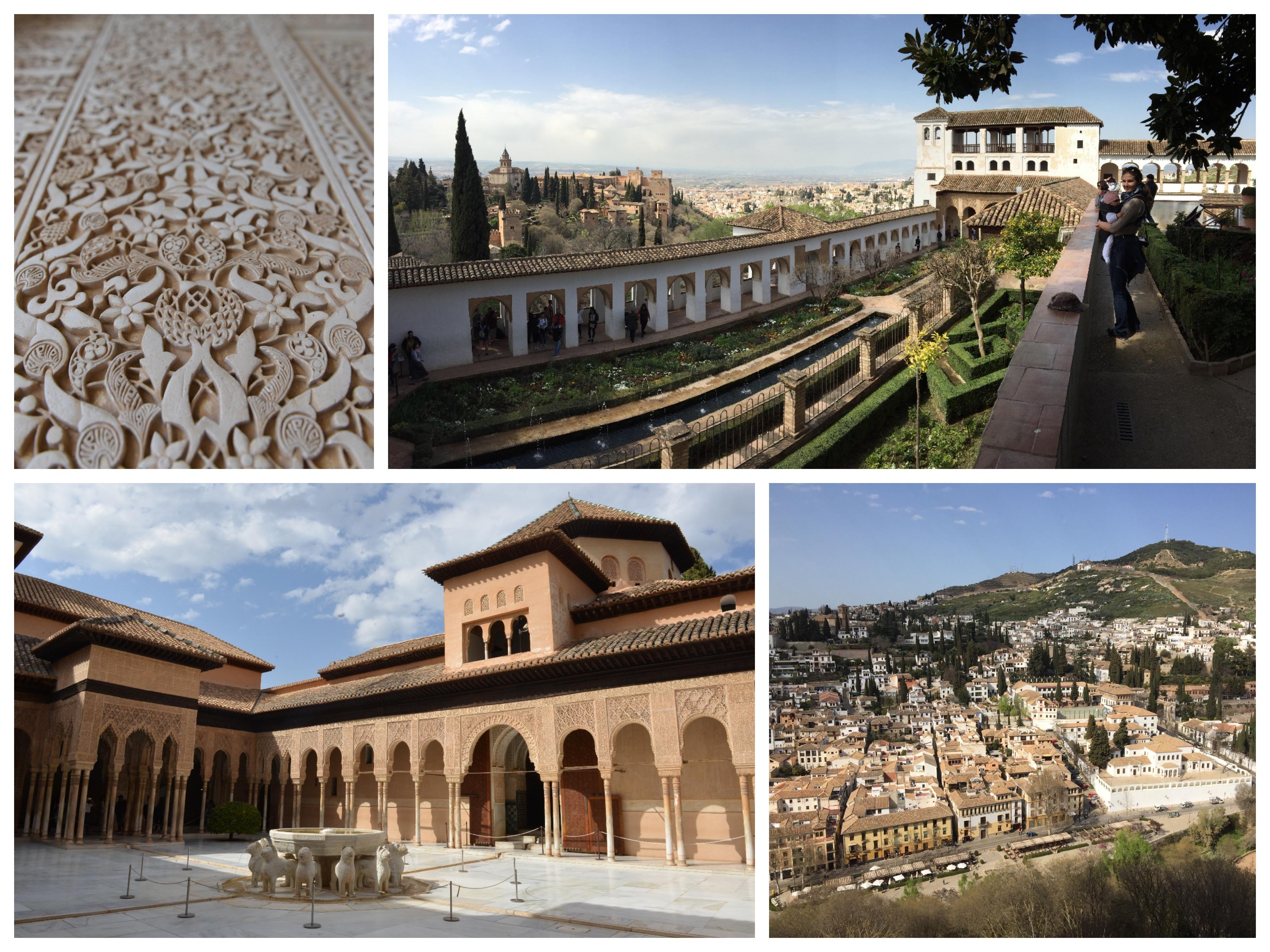 Alhambra koláž