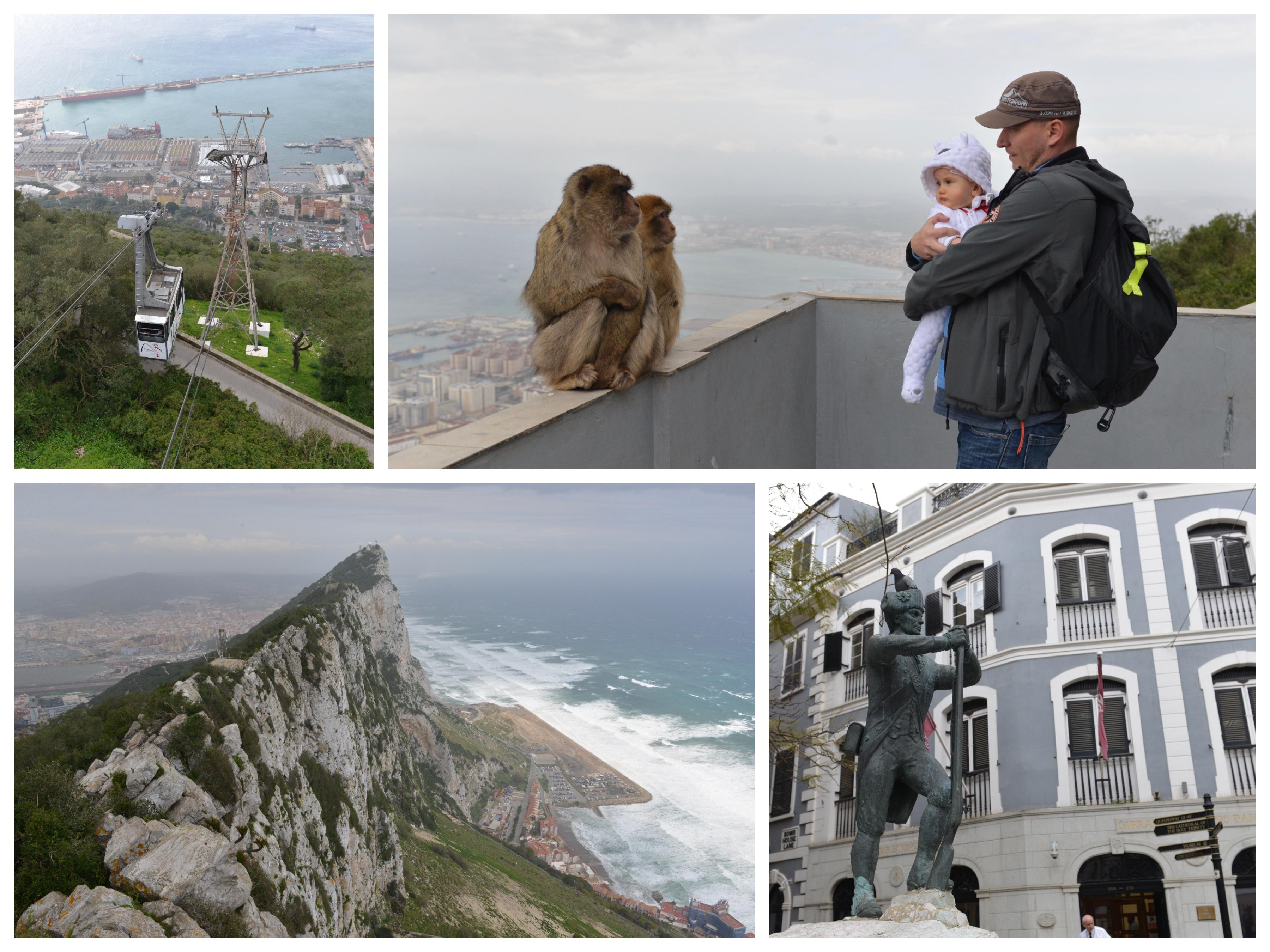 Gibraltar koláž